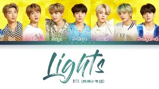 BTS   Lights (방탄소년단   Lights) [Color Coded LyricsKanRomEng日本語字幕가사] (한국어 자막)