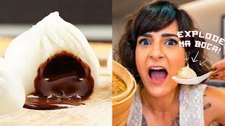 CHOCOLATE que EXPLODE na boca - Xiao Long Bao   Taiwan