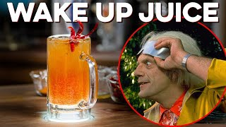 Destroying my insides with Wakeup Juice from Back to the Future Part Three | How to Drink