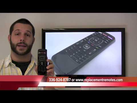 VIZIO XRT303 TV Remote Control