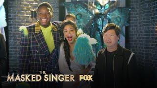Thingamajig & Nicole Meet Without The Mask | Season 2 | THE MASKED SINGER