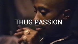[FREE] Tupac Type Beat - Thug Passion | 2pac Instrumental