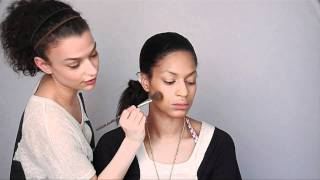 Highlight And Contour For A Long Face Shape