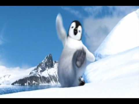 Humor video E-cards, Happy Feet Macarena Move funny humor