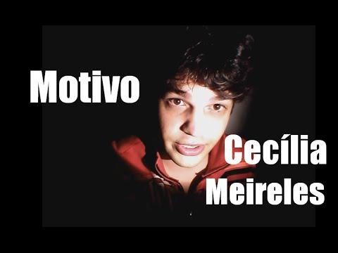 Motivo- Cecília Meireles | Poesia na Penumbra