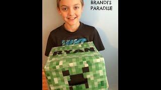 Valentine Creeper  sc 1 st  DIY Reviews u0026 Ideas & Diy Minecraft Creeper Valentine Box - DIY Reviews u0026 Ideas Aboutintivar.Com