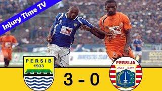 Persib Bandung 3-0 Persija Jakarta | Divisi Utama 2007 | All Goals & Highlights