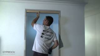 Installing Gyprock plasterboard - Filling in doorway and openings