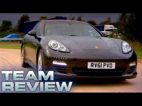 Porsche Panamera Diesel (Team Review) - Fifth Gear