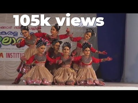 GROUP DANCE LP FIRST PRIZE ANGLO INDIAN SCHOOL CALICUT-2017