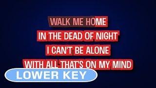 Pink   Walk Me Home | Karaoke Lower Key