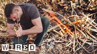 How to Start a Fire in a Survival Situation | Basic Instincts | WIRED