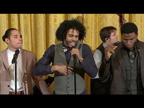 "Hamilton cast performs ""Alexander Hamilton"" at White House"