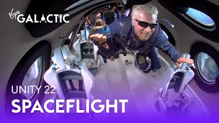 Virgin Galactic's First Fully Crewed Spaceflight #Unity22