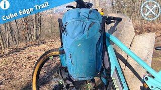 Mein MTB-Rucksack der Cube Edge Trail - Erfahrungsbericht