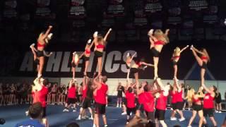 Cheer Athletics Cheetahs Majors Showoffs 2015