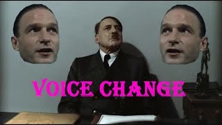 Hitler Is Informed That Fegelein Changed His Voice