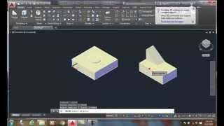 3D Modeling 02-13   Joining Two or More Solid Objects