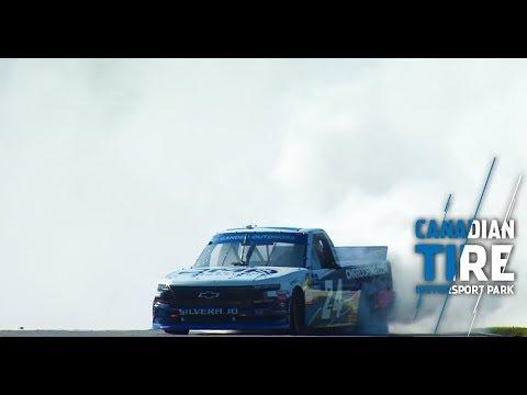 Moffitt burns it down North of the border: NASCAR Gander Trucks at Canadian Tire Motorsport Park