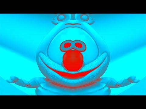 RED & BLUE & FISHEYE & MIRROR Gummibär REQUEST VIDOE Czech HD Gummy Bear Song