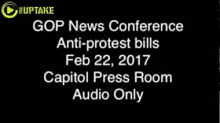 Anti Protest Bills Not Aimed At Any Race Or Group Says MN GOP (Audio Only)