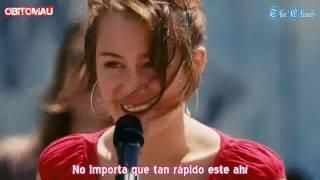 Miley Cyrus - The Climb en Español [HD]