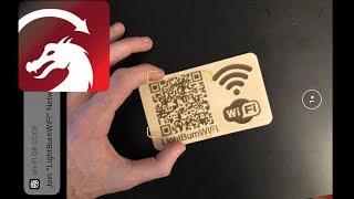 LightBurn Project - WiFi QR Code