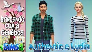 Como seria se o AUTHENTIC e a LYDIA tivessem um filho no The Sims 4??