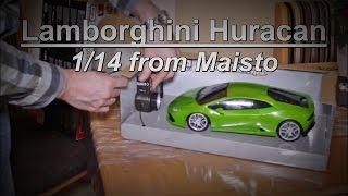 Lamborghini // Huracan // 1/14 // RC // Maisto // unboxing