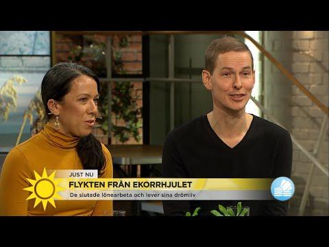 """De lever sitt drömliv: """"Vi slutade jobba innan 40"""" - Nyhetsmorgon (TV4)"""