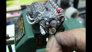 Mini Crazy Engines Starting Up and Sound That Must Be Reviewed