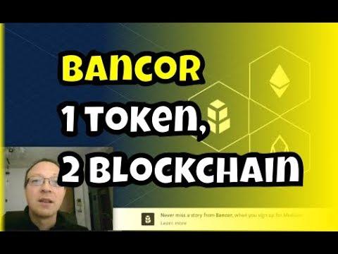 Bancor, il primo token che vive su 2 blockchain, Ethereum/EOS