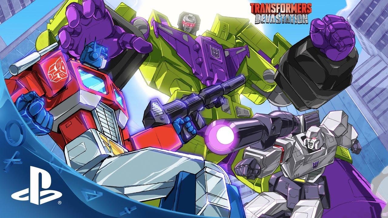 Detalles Revelados de Transformers: Devastation