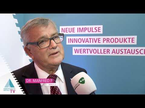 Dr. Manfred Fischer, Deutsches Netzwerk Büro | Arbeitsschutz Aktuell TV