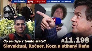 Live: Slovaktual, Kočner, Koza a stíhaný Daňo - čo sa deje v tomto štáte? #11.198