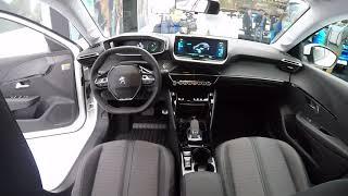 La Peugeot 208 électrique au salon de Genève