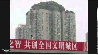 Китайский профессор построил уникальный дом на крыше небоскреба