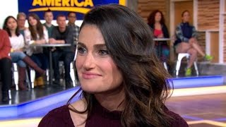 <b>Idina Menzel</b> Interview On Beaches Remake