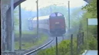 preview picture of video 'DSB MX 1019 Ballerup-Måløv 1989'