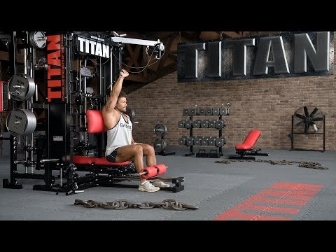 Cable One Arm Triceps Extension (pronated grip)