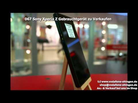 067 Sony Xperia Z Gebrauchtgerät zu Verkaufen