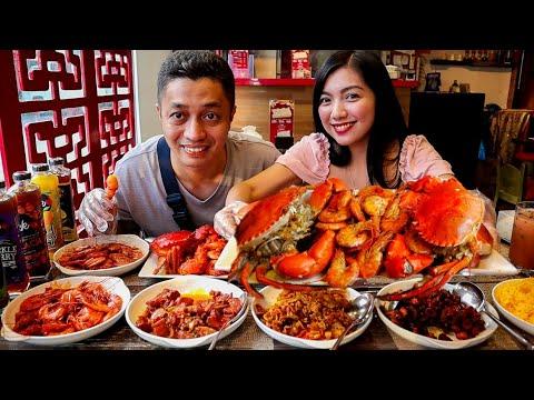 Unlimited Crab, Shrimp and Meat Mukbang Ft. Templo Mukbang