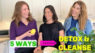 How To DETOX & CLEANSE For Optimal Health & Weight Loss | w. Dr. Jodi Larry