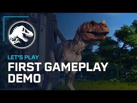 Jurassic World Evolution - First Official Gameplay Demo thumbnail