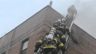 Suspected lightning strike sets apartment on fire