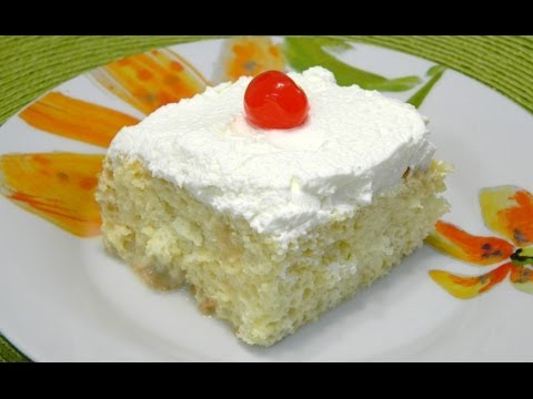 Video Traditional Tres leches Cake or Three Milk Cake