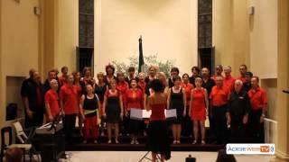 Video: San Giovanni Lup: rassegna di Cori Europei alla ex chiesa di Pozzo