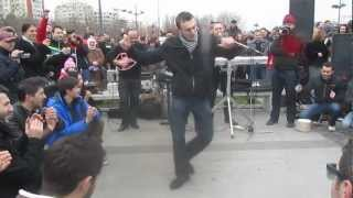ZEIBEKIKO At Constanta, Romania - Flashmob For GREECE NATIONAL DAY, By Corina Martin ...