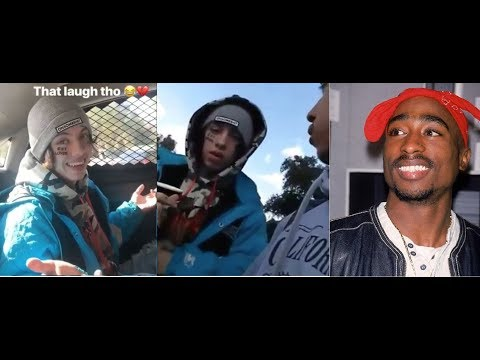 Lil Xan defends Calling the Cops after almost being jumped by 20 Tupac Fans 'IM NOT A GANGSTA RAPPER