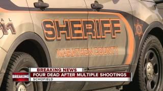 Four dead after multiple shootings near Wausau